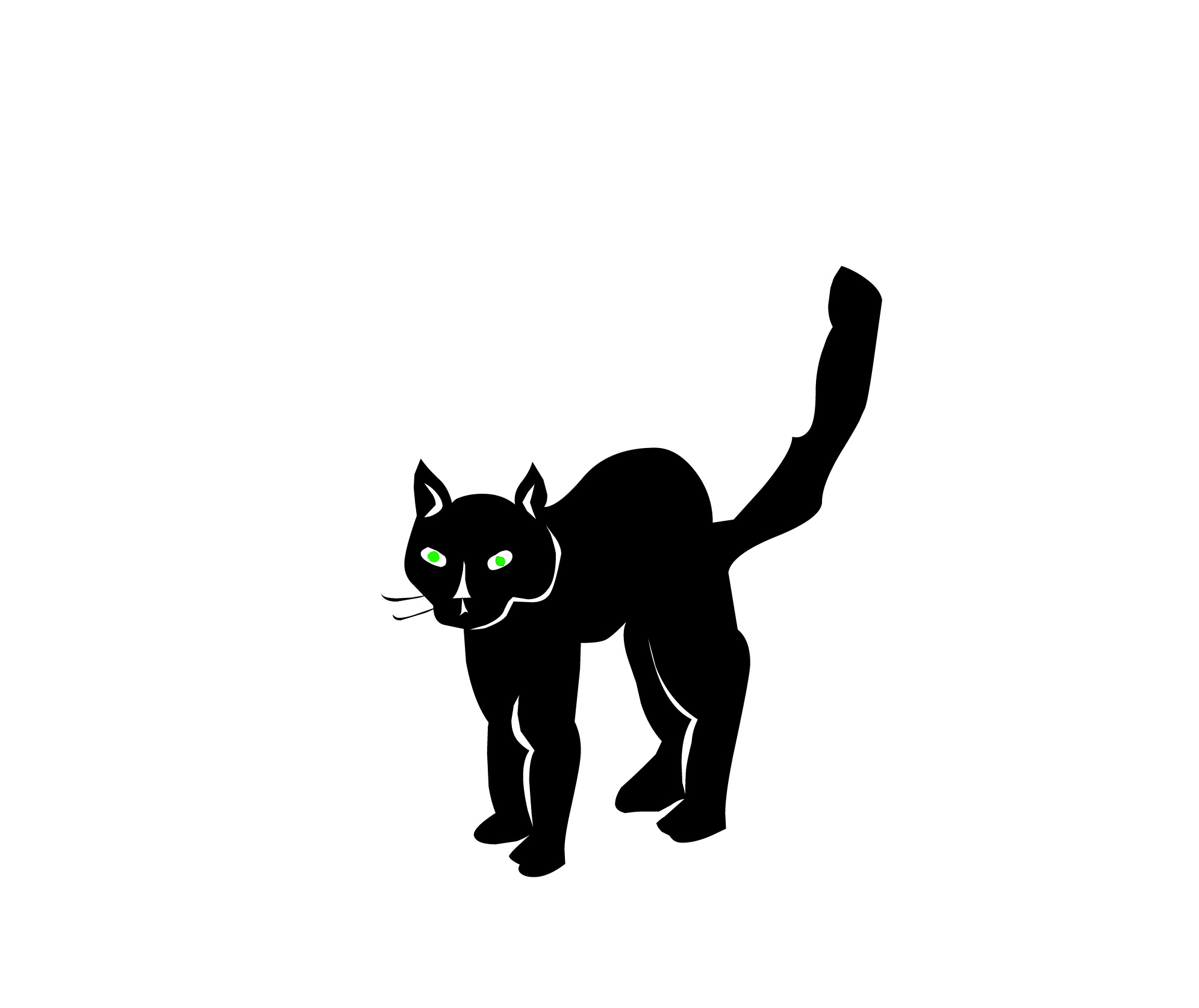 black cats wallpaper