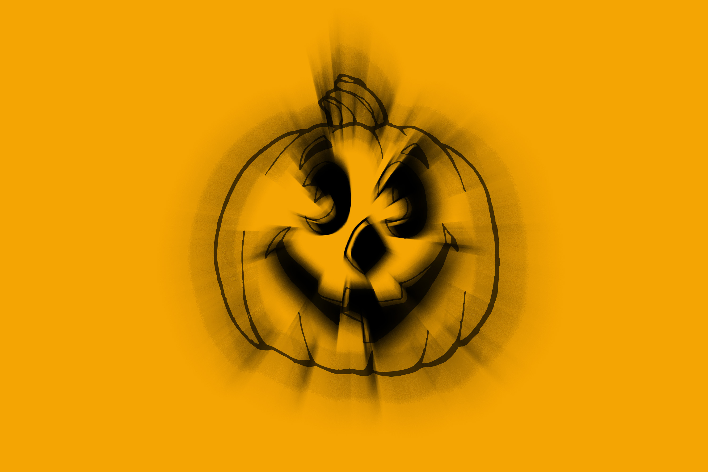 pumpkin lantern clipart with zoom effect