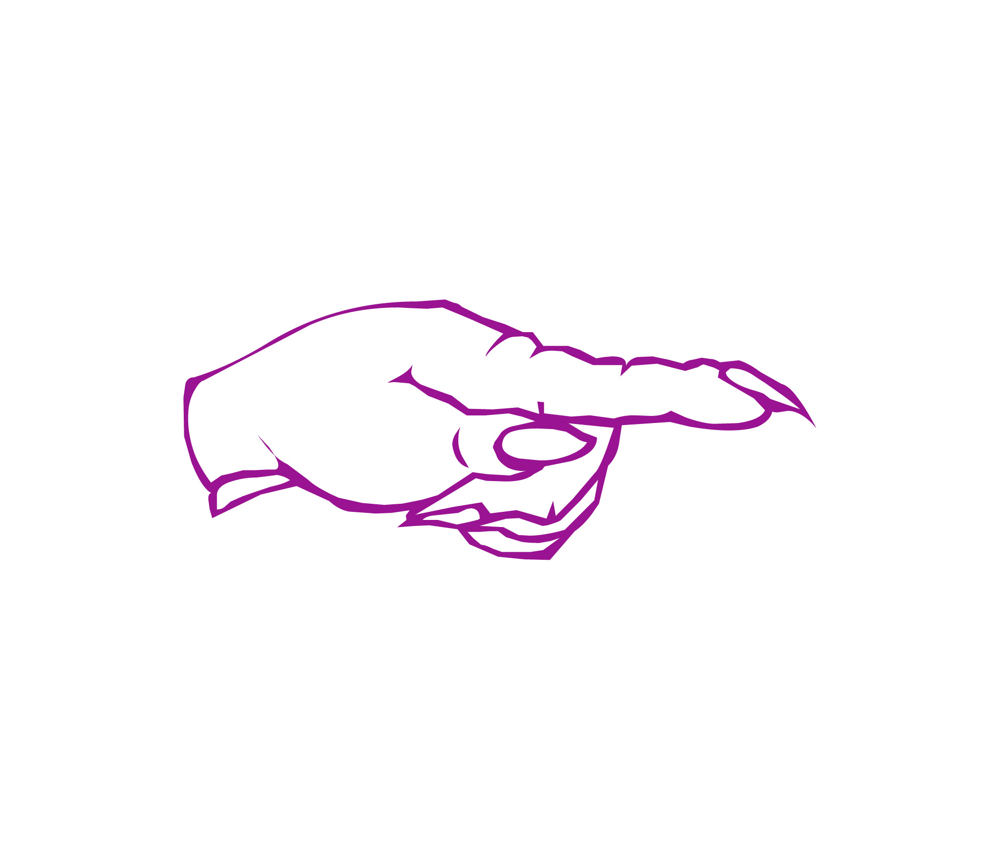 Image of pointing finger clipart | Freebie.Photography