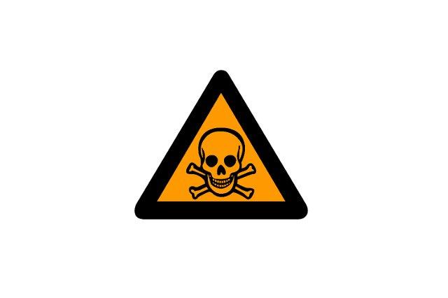 Toxic Hazard Symbol