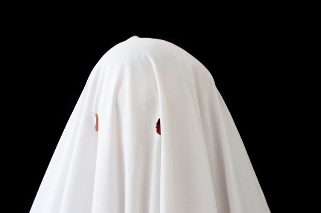 Black Bed Sheet Ghost