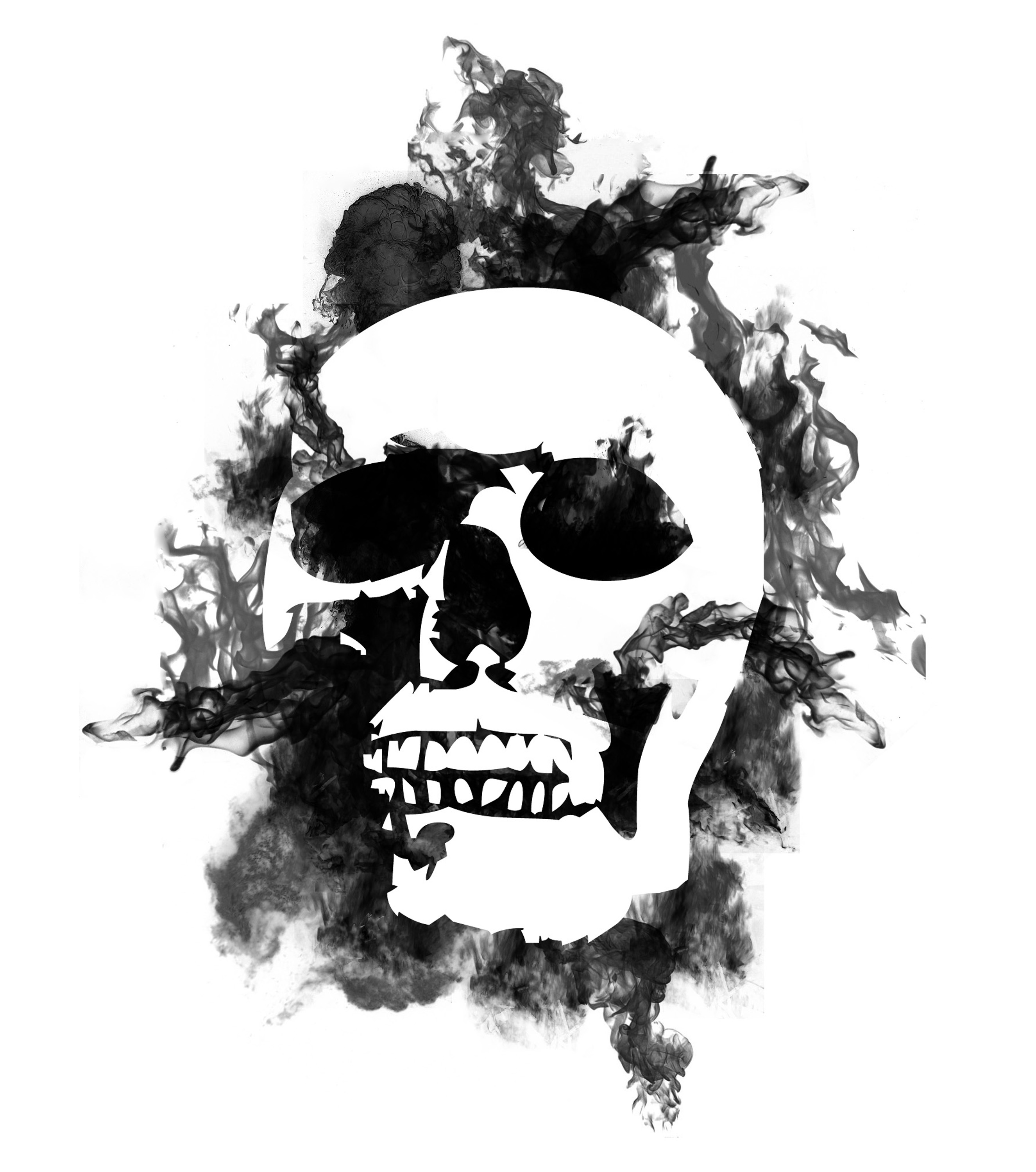 description buring skull negative keywords burning flaming burn skull ...