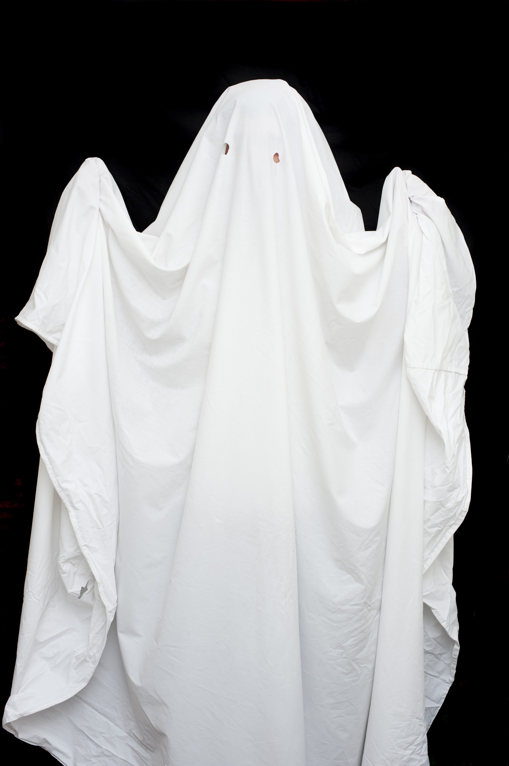 White Bed Sheet Ghost Costume